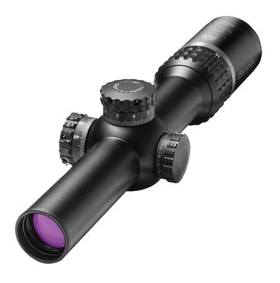 Burris 201001 XTR II 1-5x 24mm Obj 108-21.5 ft @ 100 yds FOV 30mm Tube Dia Black Matte Illuminated XTR II Ballistic CQ Mil (RFP)