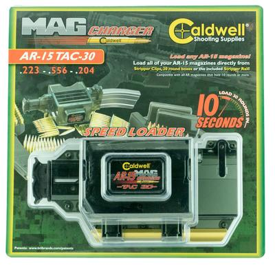 Caldwell 397493 Universal Mag Charger 223 Remington 20 rd Clear Finish