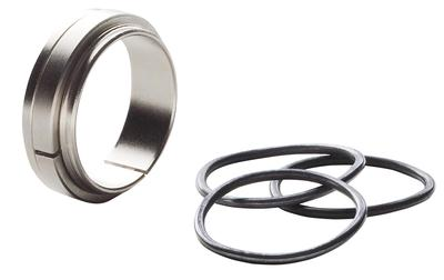 Remington Accessories 19258 12 Gauge Gas System Kit Remington 1100/11-87 Nickel-Plated