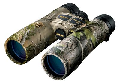 Nikon 16004 Prostaff 10x 42mm 325 ft @ 1000 yds FOV 15.5mm Eye Relief Realtree Xtra Green