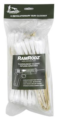 RamRodz 50075 Barrel Cleaner 50 Caliber Cotton Swab 8