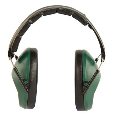 Caldwell 498024 Low Profile Range Earmuffs Hearing Protection 25 dB Green