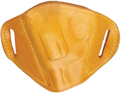 Bulldog MLT-IP Inside the Pocket Small Automatic Handgun Holster Leather Tan