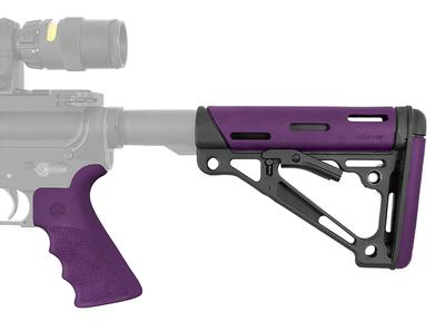 Hogue 15655 AR-15 Rifle Polymer Purple Stk/Grip