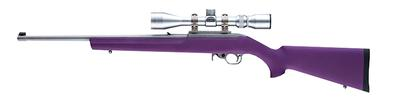 Hogue 22016 10-22 Rifle Rubber Overmolded Synthetic Purple