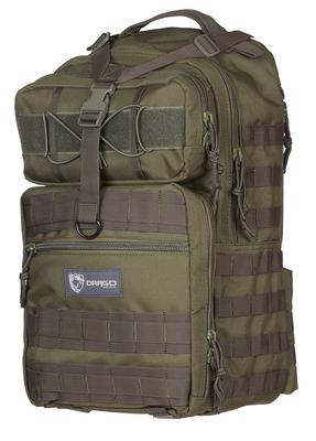 Drago 14308GR Atlus Sling Pack Backpack Tactical 600D Polyester 19
