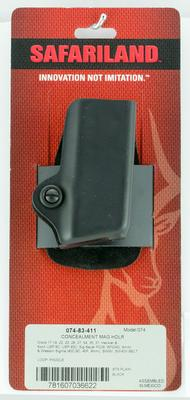 Safariland 07483411 Model 74 Magazine Pouch Black Thermal Molded Laminate