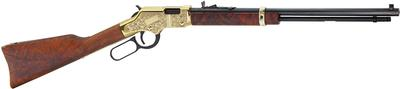 Henry H004MD3 Golden Boy Deluxe Engraved 3rd Edition 22 Magnum Lever 22 Winchester Magnum Rimfire (WMR) 20