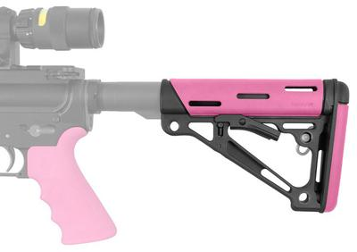 Hogue 15750 AR-15 Rifle Polymer Pink Buttstock