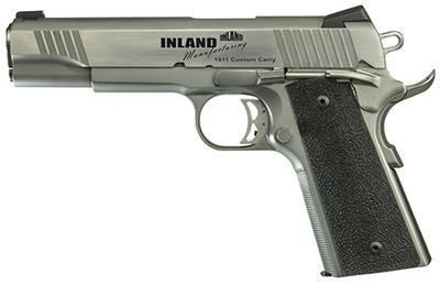 Inland Mfg ILM1911TC 1911 Custom Carry Single 45 ACP 5