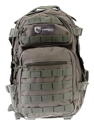 Drago Gear 14305GY Scout Backpack Tactical 600D Polyester 16