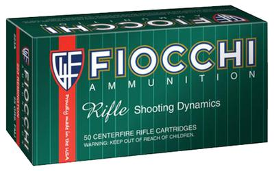 Fiocchi 7MM08B Shooting Dynamics 7mm-08 Remington 139 GR Boat Tail Soft Point 20 Bx/ 10 Cs
