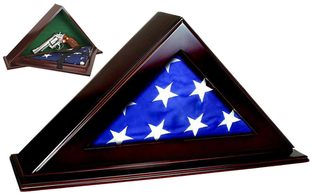 Peace Keeper Pfc Patriot Flag Case With Concealment 22