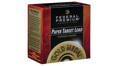 Federal GMT1718 Gold Medal Handicap Paper 12 Gauge 2.75