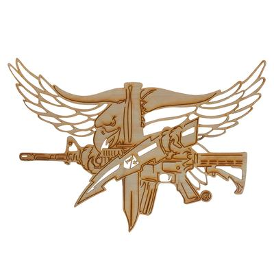 SWAT Operator Eagle Wood Sign