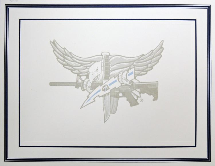 Blank Certificate With Swat Operator Insignia