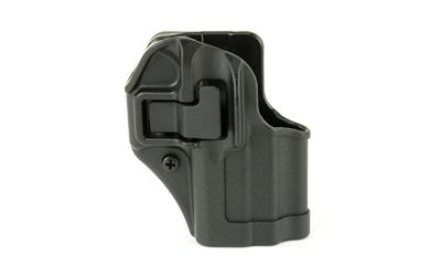 Blackhawk 410568BKR Serpa CQC Concealment RH Matte Finish Glock 43 Polymer Black