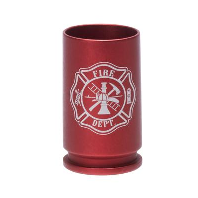 FIRE DEPT LOGO SHOT GLASS