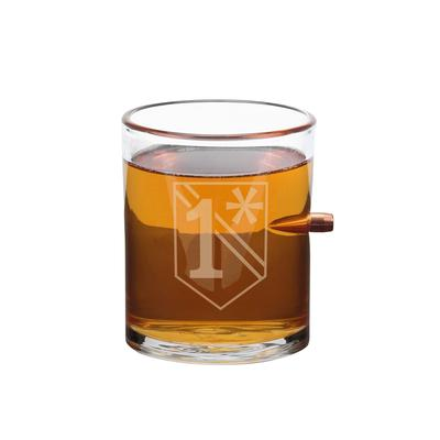 1 ASTERISK WHISKEY GLASS