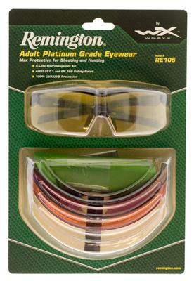 Remington Wiley X RE105 RE 105 Eye Protection Black
