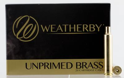 Weatherby BRASS653 Unprimed Brass CNC Primers/Norma Cases 6.5-300 Weatherby Magnum