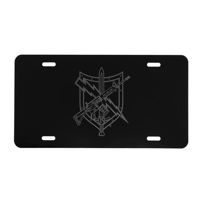 TACTICAL PATROL OFFICER LICENSE PLATE