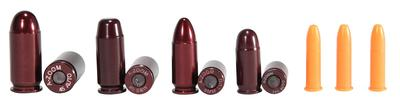 A-Zoom 16190 Snap Caps NRA Instructor .22/.380/9mm/40S&W/45ACP Aluminum 12