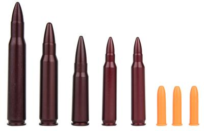A-Zoom 16195 Snap Caps Top Rifle .22/.223/.308/.30-06/7.62x39 Aluminum 8
