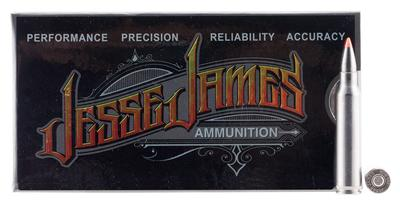 Ammo Inc 223055VMXJJ Jesse James 223 Remington/5.56 NATO 60 GR V-Max 50 Bx/ 20 Cs