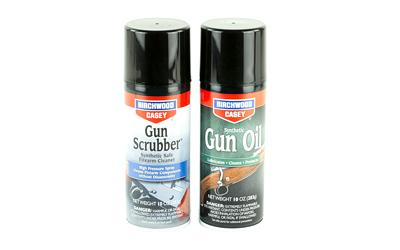 Birchwood Casey 33302 Gun Scrubber Gun Oil Combo Synthetic