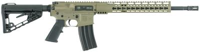Diamondback DB15CCKM300F DB15 with Keymod Rail Semi-Automatic 300 AAC Blackout/Whisper (7.62x35mm) 16