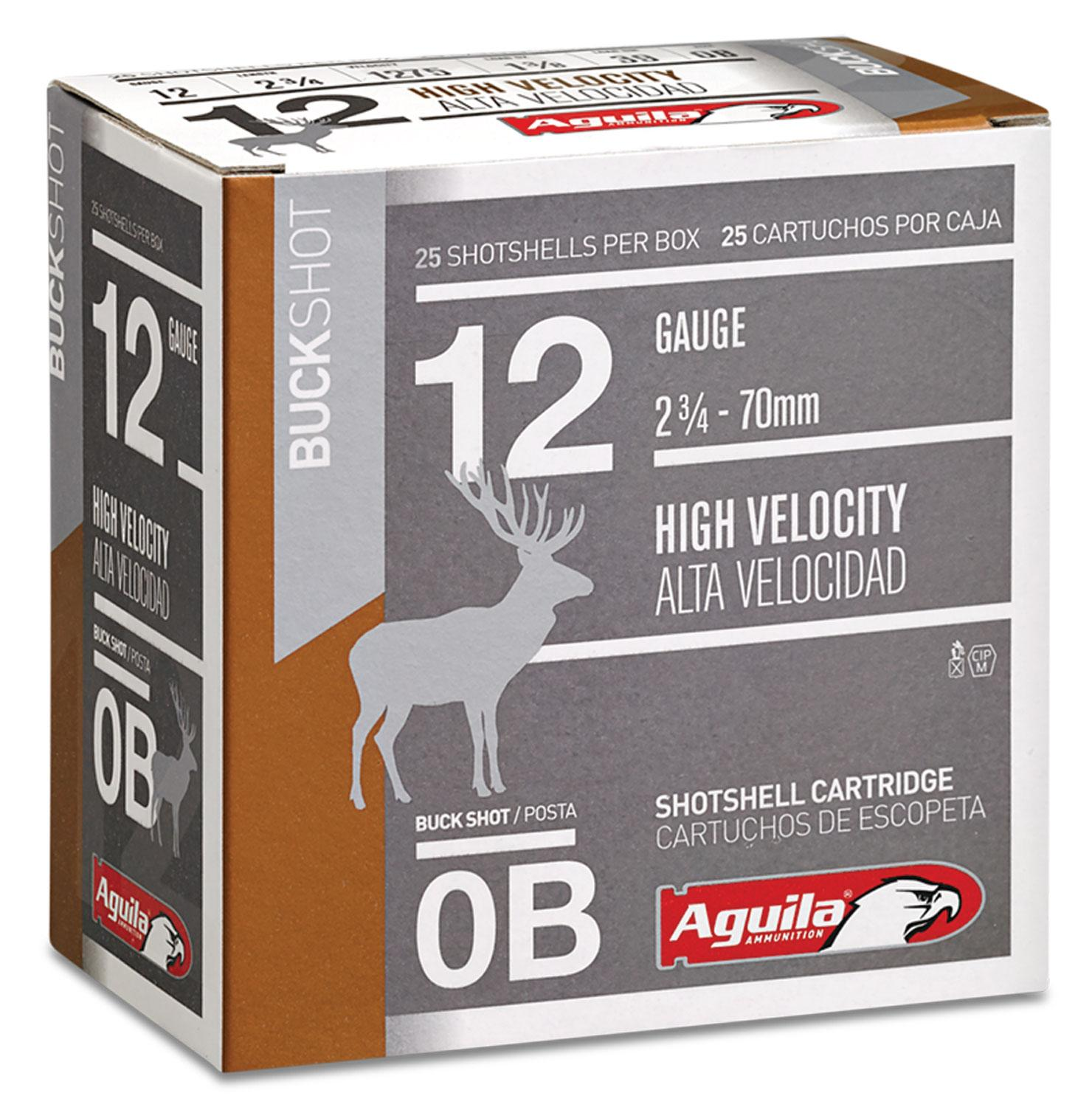 Aguila 1c1200ba Field High Velocity 12 Gauge 2.75