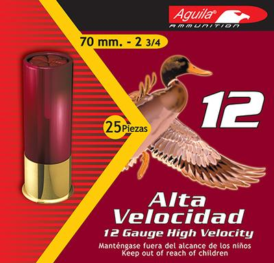 Aguila 1CHB1202 Field High Velocity 12 Gauge 2.75