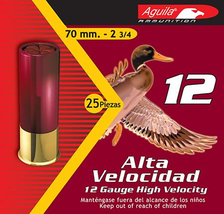 Aguila 1chb1204 Hunting High Velocity 12 Gauge 2.75