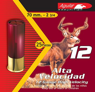 Aguila 1CHB1207 Hunting High Velocity 12 Gauge 2.75