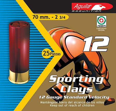 Aguila 1chb1248 Competition High Velocity Sporting Clay 12 Gauge 2.75