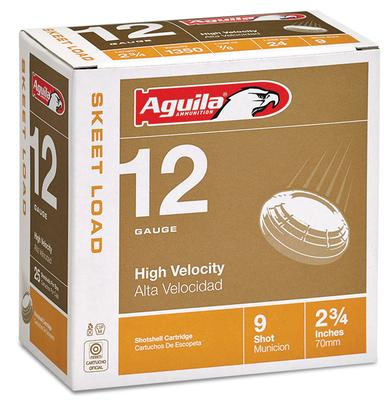 Aguila 1CHB1254 Competition Skeet 12 Gauge 2.75