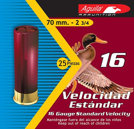 Aguila 1chb1618 Hunting Standard Velocity 16 Gauge 2.75