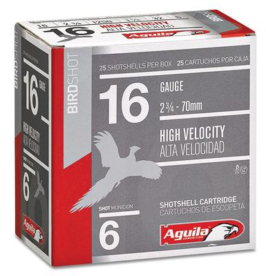 Aguila 1CHB1606 Hunting High Velocity 16 Gauge 2.75