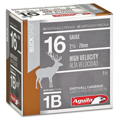 Aguila 1C1601BA  Field High Velocity 16 Gauge 2.75