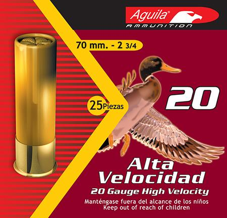 Aguila 1chb2006 Field High Velocity 20 Gauge 2.75