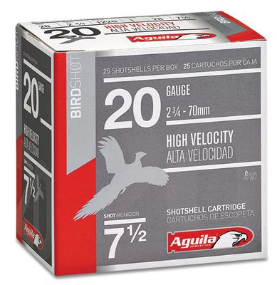 Aguila 1CHB2007 Field High Velocity 20 Gauge 2.75