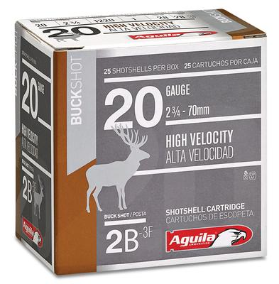 Aguila 1C2002BA Field High Velocity 20 Gauge 2.75