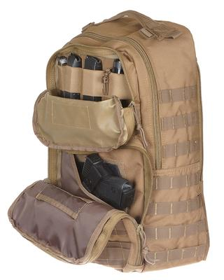 DRAGO GEAR ATLUS SLING BACKPACK TAN