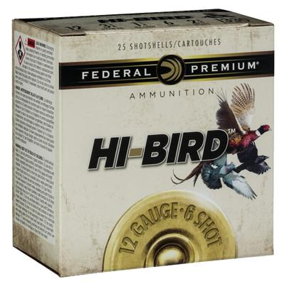 Federal HVF128 Hi-Bird Game Load 12 Gauge 2.75