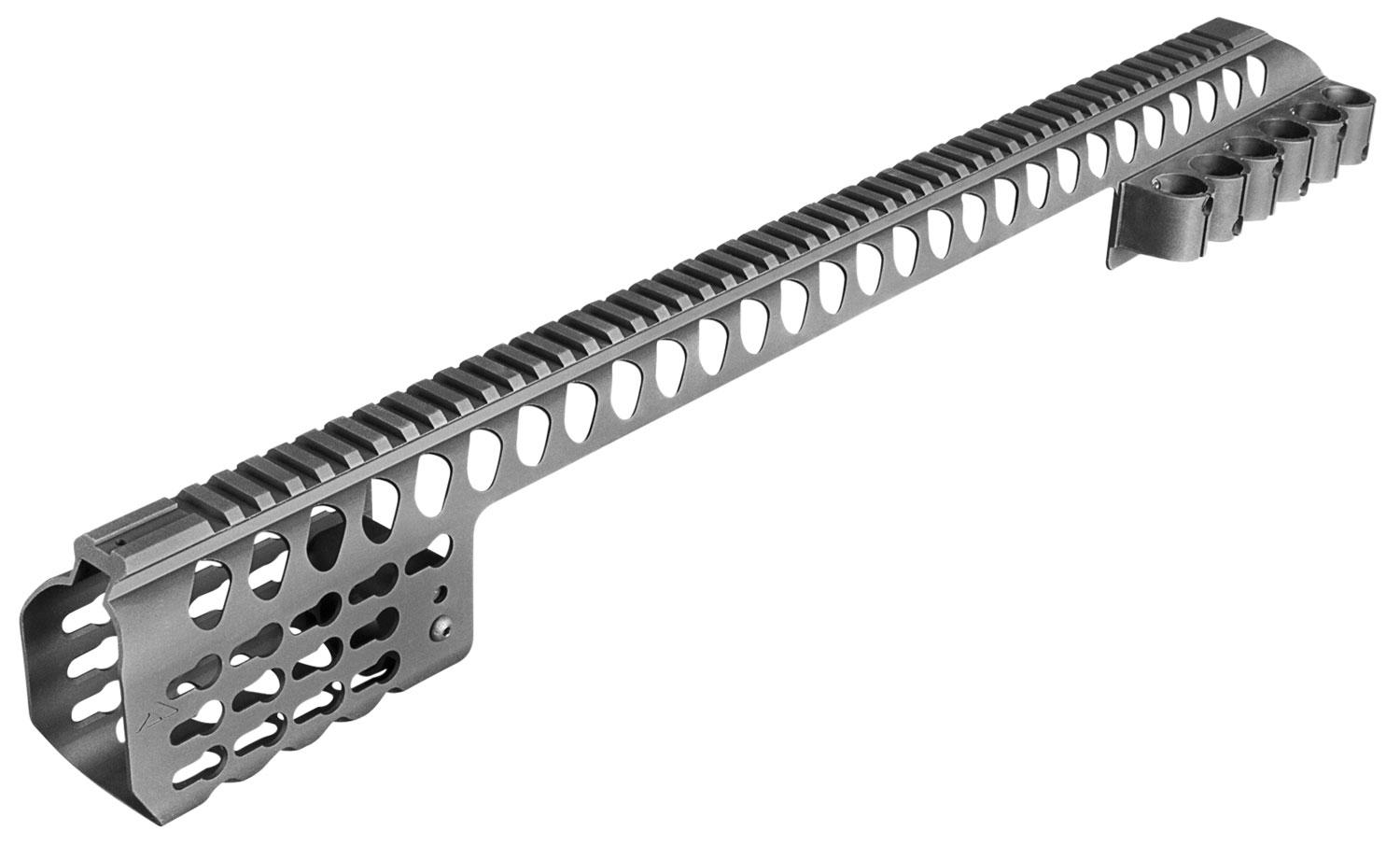 Aim Sports Mtksg500 Mlok Rail Mossberg 500 6061- T6 Aluminum Black 24.2