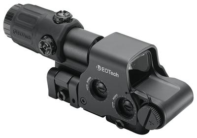 Eotech HHSI Hybrid Sight I 1x  Obj Unlimited Eye Relief 1 MOA Black