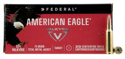 FED AM EAGLE 224VLK 75GR TMJ 20/200