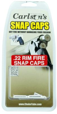 Carlsons 00056 Snap Cap Rifle 22 Rimfire 6 Pack