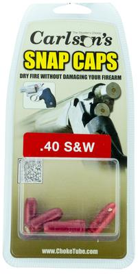 Carlsons 00064 Snap Cap Pistol 40 Smith & Wesson 5 Pack